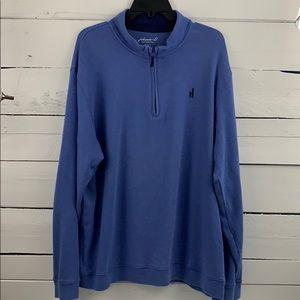 Johnnie O prep 1/4 Zip Pullover Size XXL